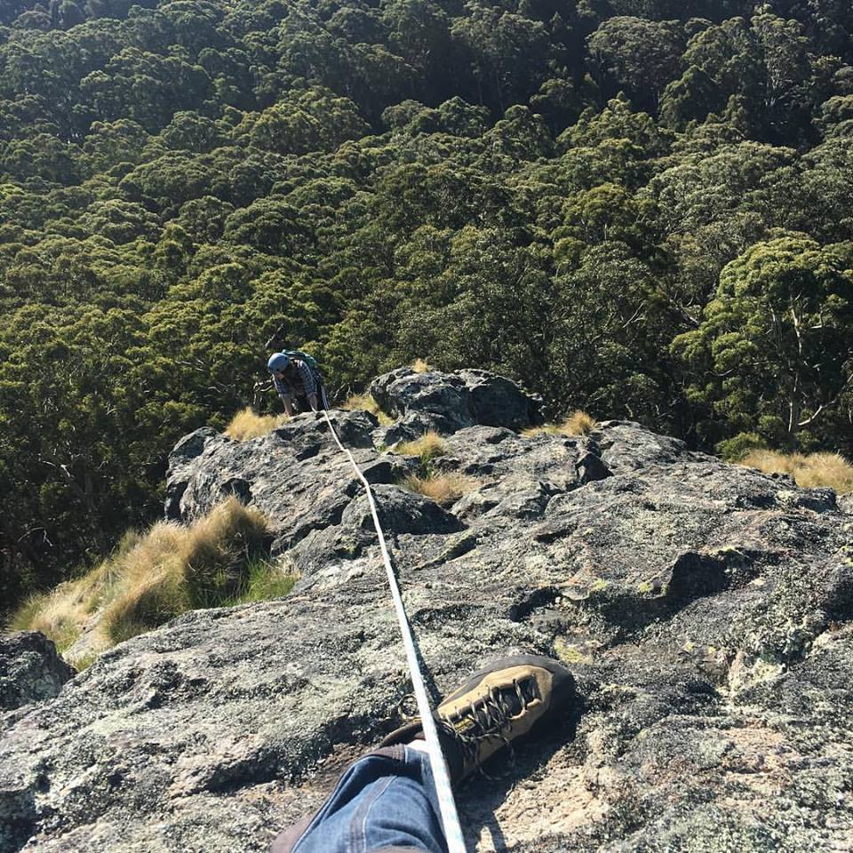 Climbing at Mt Macedon